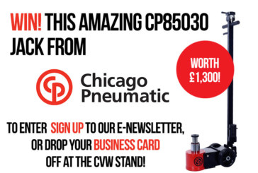 WIN! Chicago Pneumatic are giving away a CP85030 hydraulic jack