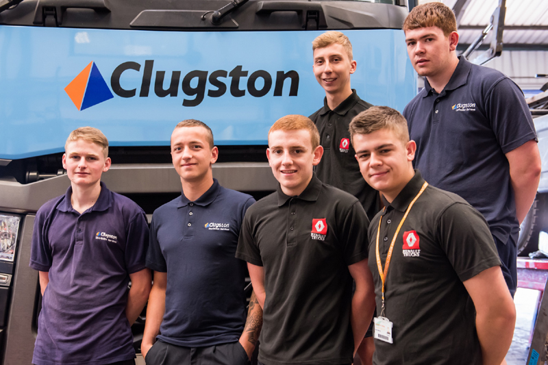 Clugston Distribution on the hunt for apprentices