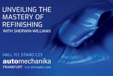 Sherwin Williams and Valspar to exhibit at Automechanika Frankfurt