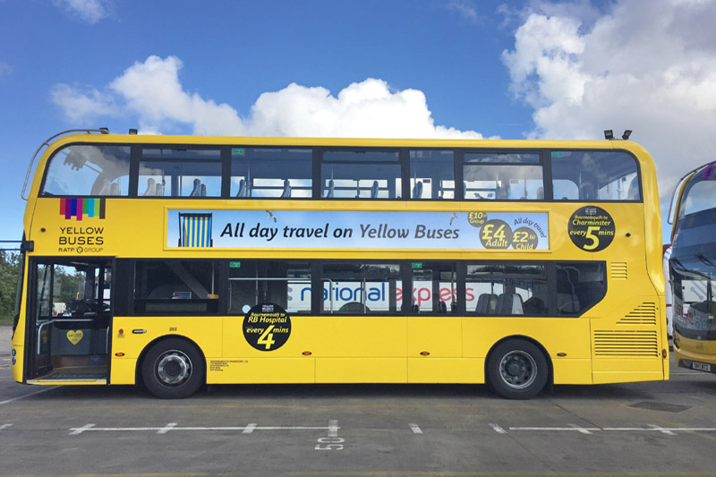 Bournemouth's Yellow Buses Adopt Freeway Fleet System Software