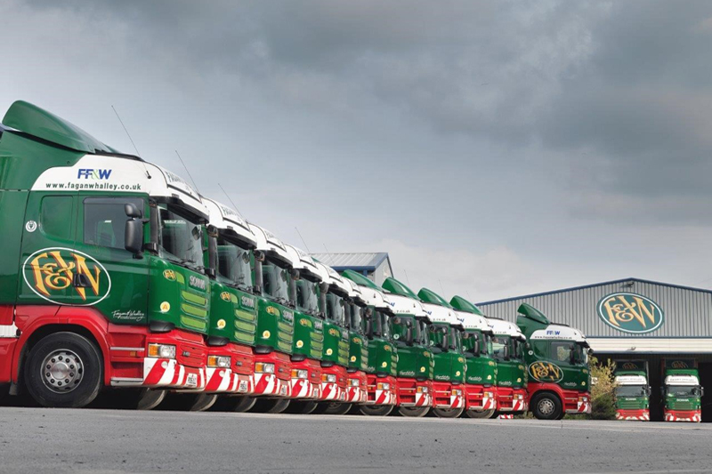 Lancashire Hauler Fagan & Whalley Chooses Hankook