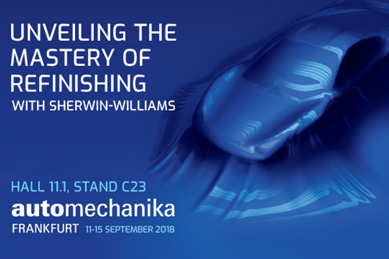 Sherwin Williams and Valspar to exhibit at Automechanika Frankfurt