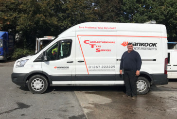 Winton packs a punch for Carmarthenshire Tyre Services