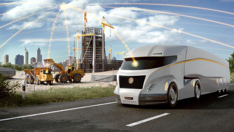 How tyre telematics maximise fleet efficiency