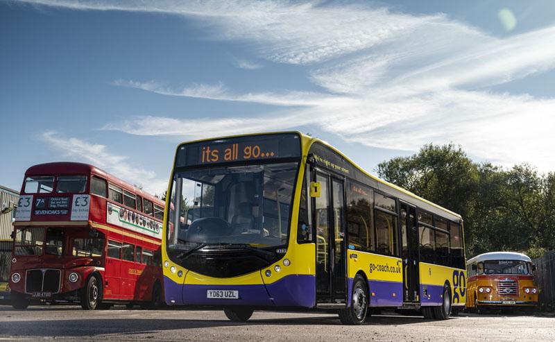 Go-Coach shifts fleet to Bandvulc