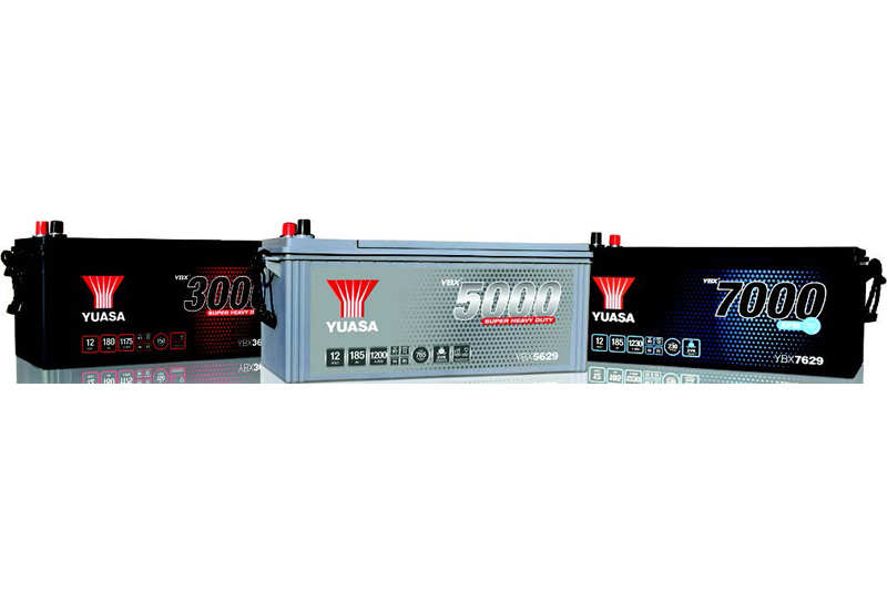 GS Yuasa battery range