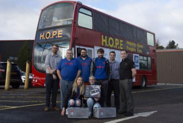 GS Yuasa powers homeless group's bus