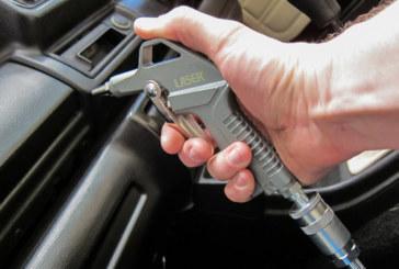 Air duster blow gun