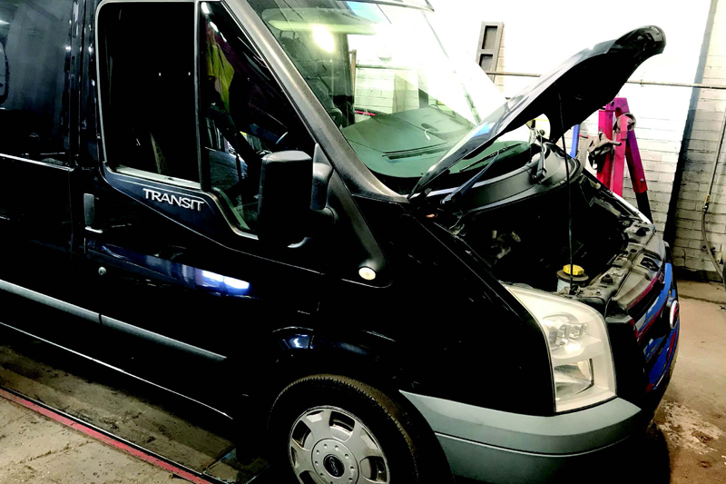 Clutch replacement: 2011 Ford Transit 2.2 TDCI