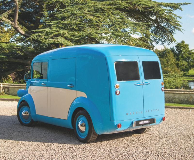 Morris JE reimagines the retro J Type van