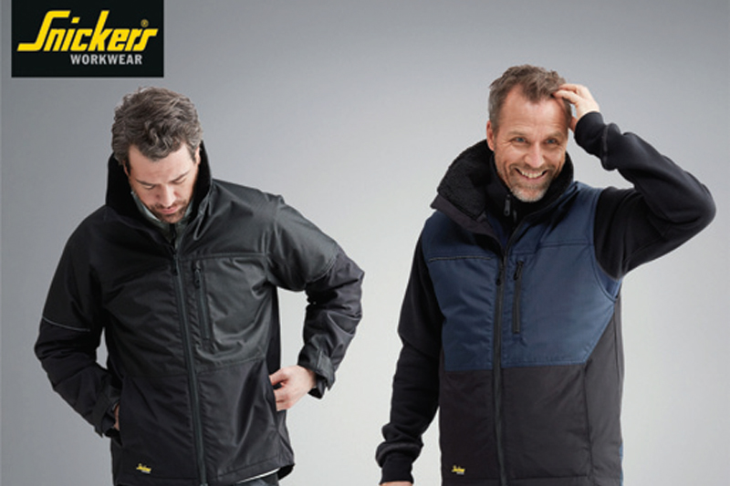 Snickers introduces ALLroundWork Jackets and Gilets
