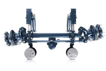 BPW explores self-steering axle
