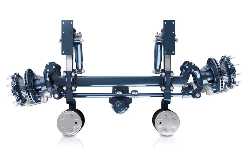 BPW explores self-steering axle