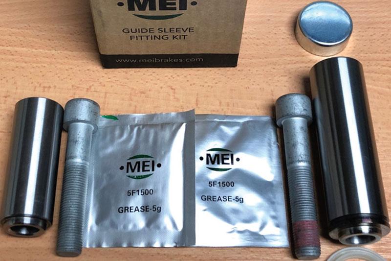 MEI Brakes runs through caliper replacement
