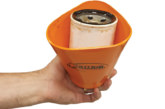 S.U.R.&R designs filter removal cup