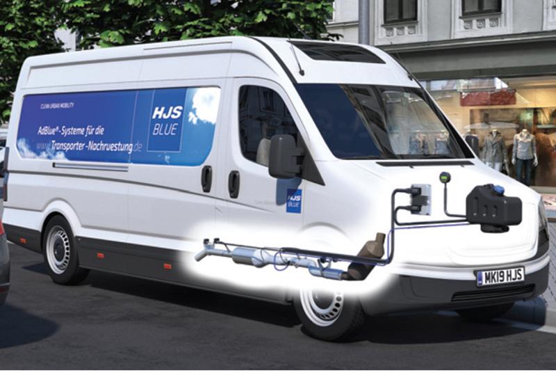 HJS develops retrofit exhaust systems