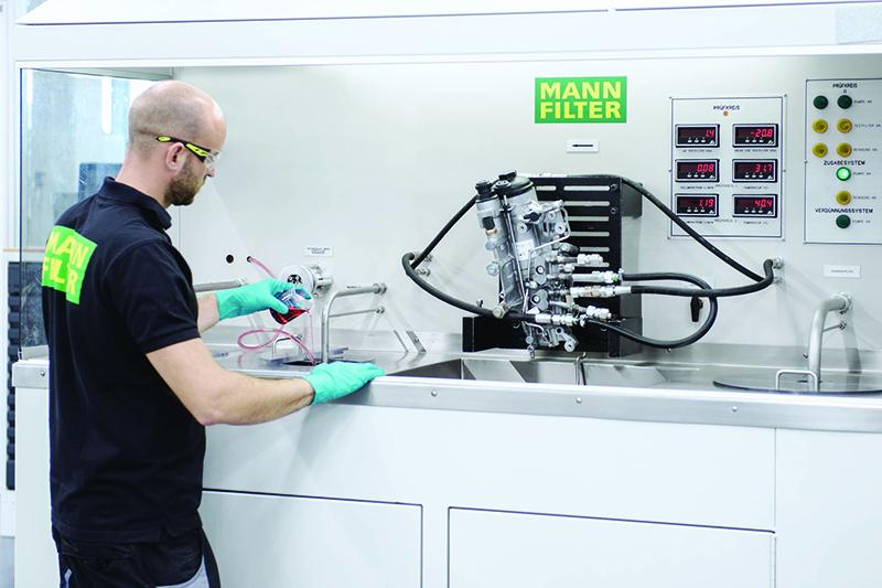 MANN-FILTER runs through development process