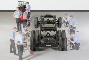 Pro-Align examines commercial vehicle aligner