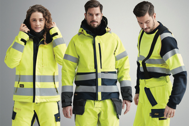 Snickers releases hi-vis and Polartec clothes
