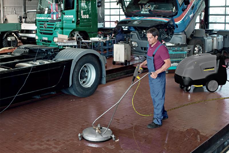 Karcher provides LCV cleaning advice