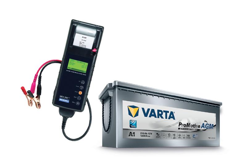 VARTA describes batteries and diagnostics
