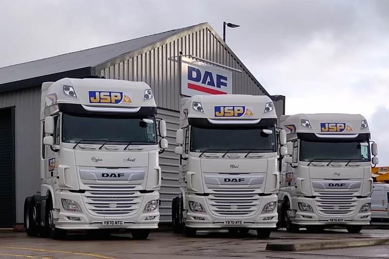 Motus Commercials supplies anniversary DAF's
