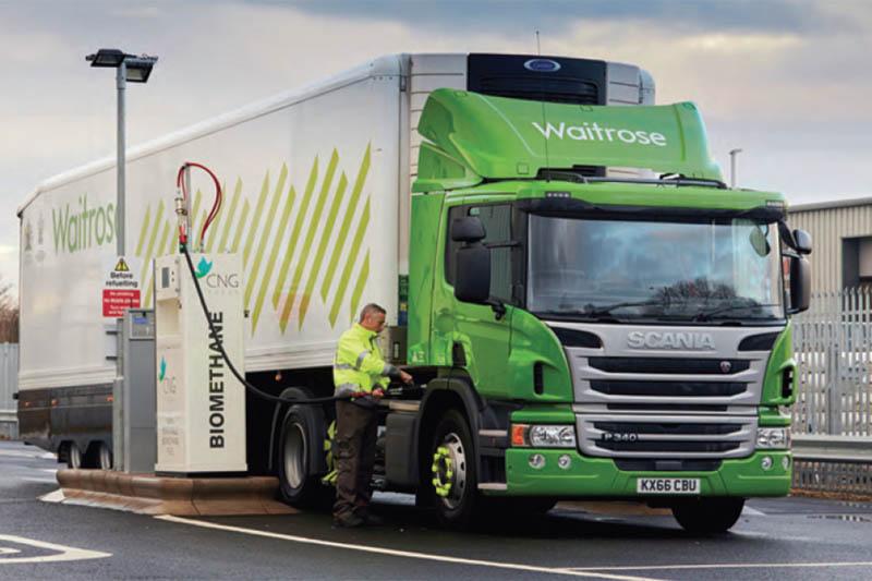 Impacts of alternatively-powered trucks