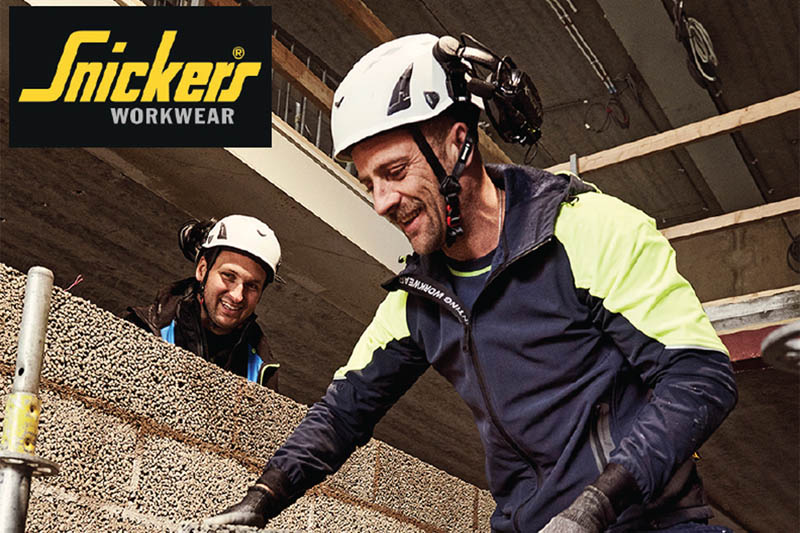 Snickers introduces FlexiWork Neon Jackets