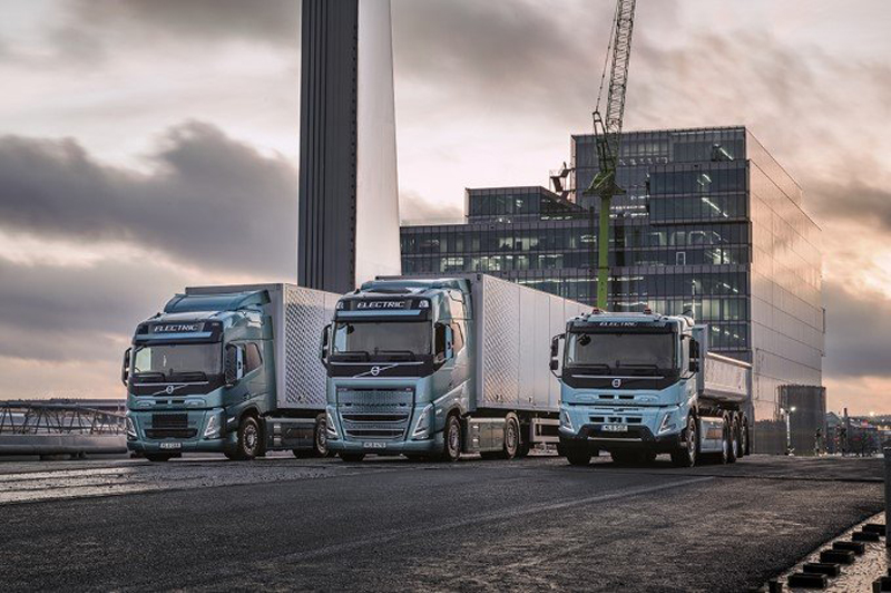 Volvo Trucks offers electrification solutions
