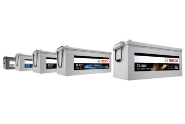 Bosch introduces CV battery range