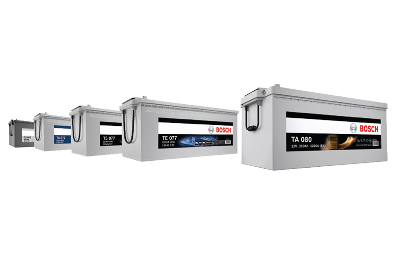 Bosch introduces commercial vehicle battery range