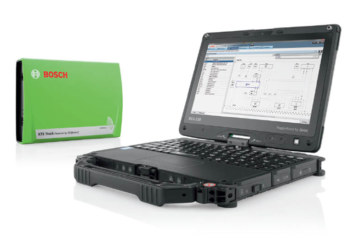 Bosch details products that aid a vehicle service