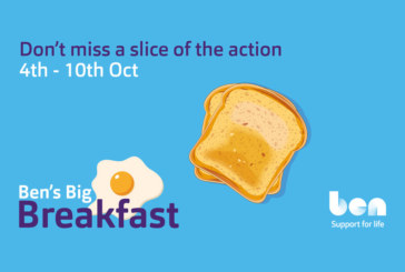Ben launches Big Breakfast fundraiser