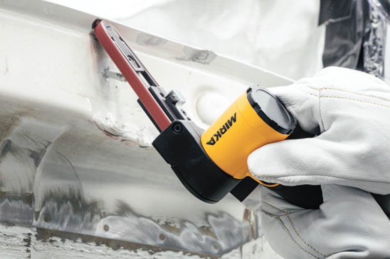 Mirka launches pneumatic belt sanders