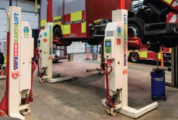 Stertil Koni showcases its Earthlift